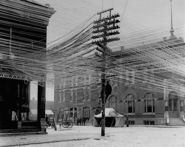 Pratt, Kansas, 1911 (Foto di Kansas Memory Foundation).