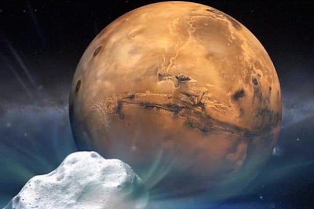 Siding Spring Marte