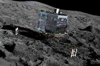 Philae, il lander di Rosetta, è atterrato sulla cometa