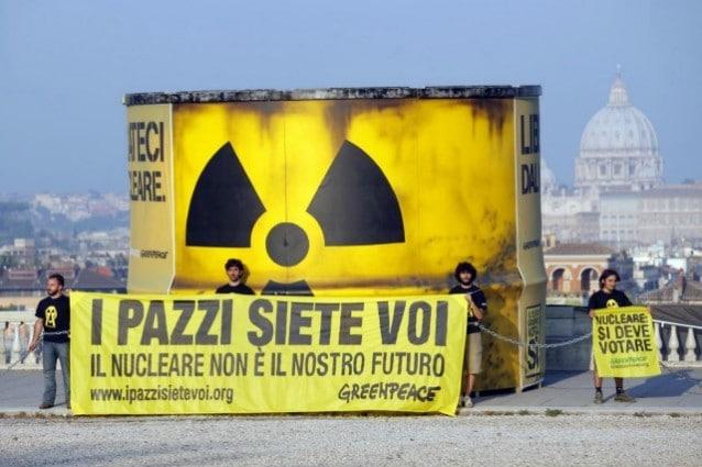 Risultati immagini per no al nucleare