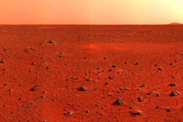 Marte vita e acqua