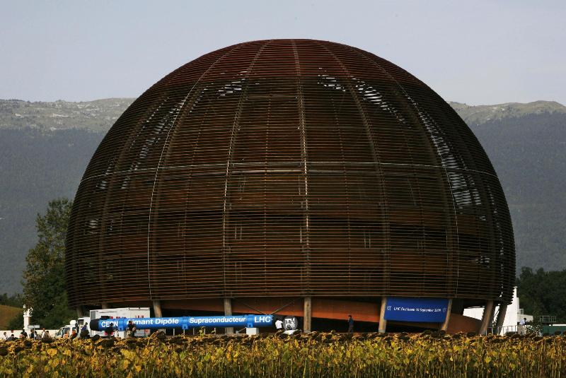 A Ginevra, il centro europeo nucleare