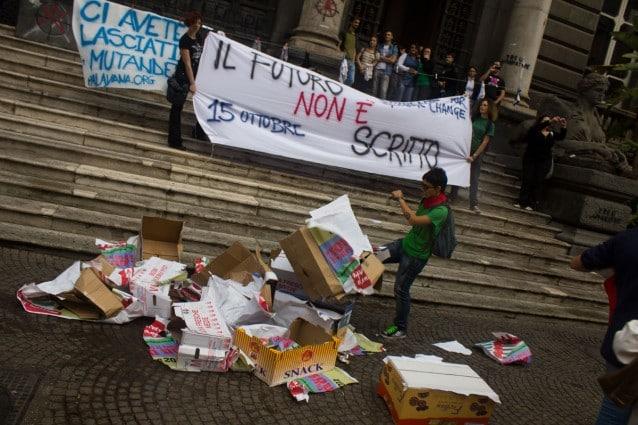 Manifestazione 15 ottobre - Occupy Rome