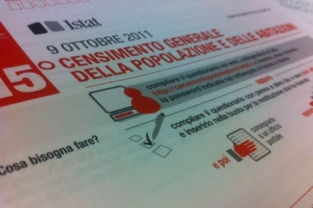 MODULO CENSIMENTO ISTAT 2011 SCARICARE