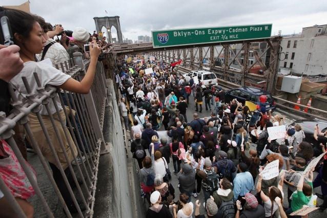 Il movimento statunitense contro le lobby finanziarie e politiche sta inscenando da settimane proteste nelle maggiori città americane.