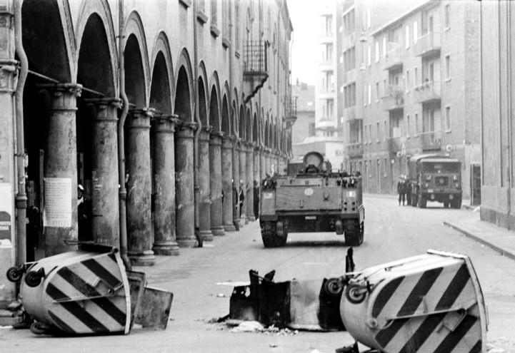 13 marzo '77 – via Zamboni, Bologna