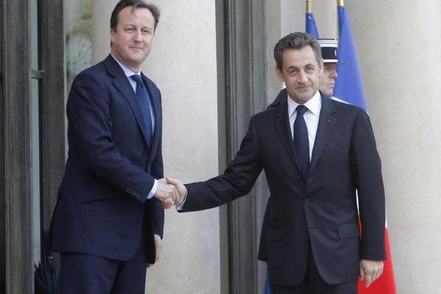 Cameron e Sarkozy