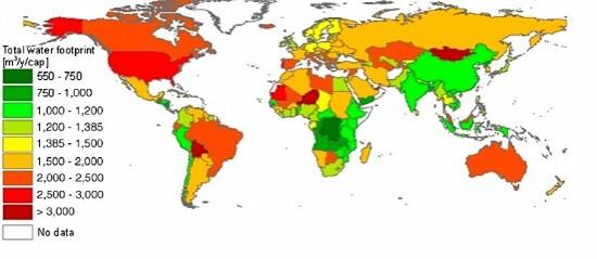 Chi e in che quantità consuma veramente l'acqua del nostro pianeta L'ultima ricerca pubblicata da PNAS, basata su dati statistici e demografici relativi all'oro blu in tutto il mondo, chiarisce molti aspetti a proposito dell'impronta idrica dell'umanità.