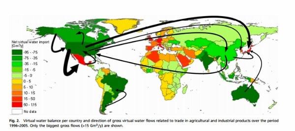 Chi e in che quantità consuma veramente l'acqua del nostro pianeta L ultima ricerca pubblicata da PNAS, basata su dati statistici e demografici relativi all'oro blu in tutto il mondo, chiarisce molti aspetti a proposito dell'impronta idrica dell'umanità.
