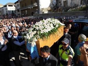 Cardito, i funerali di  Pasquale Romano