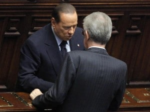 """Berlusconi: """"Monti condivide i miei stessi ideali, sia il federatore dei moderati"""""""