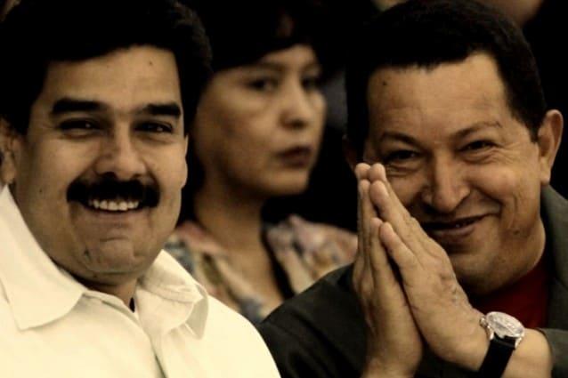 Chavez-e-Maduro prossimo presidente venezuela