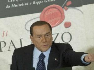 """Berlusconi alla presentazione libro """"Il Palazzo e la Piazza"""" di Bruno Vespa"""