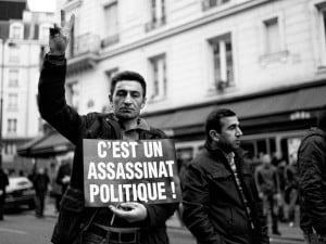 """Manifestazione a Parigi per le attiviste del Pkk uccise, Erdogan: """"faida interna"""""""