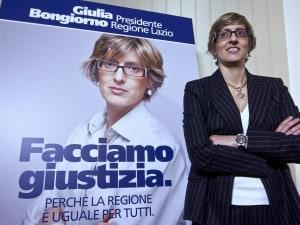 """Elezioni Regione Lazio 2013: Giulia Bongiorno lancia la candidatura, """"facciamo giustizia"""""""