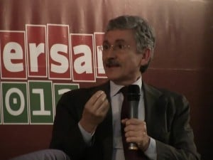 l'ex-presidente del Consiglio, Massimo D'Alema