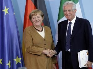 """Il portavoce della cancelliera tedesca risponde su Twitter a una domanda di @nomfup che aveva chiesto se fosse vero che la Merkel """"non vuole il Partito democratico al governo"""", come sostenuto in giornata dal professore."""