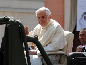 Visita di Benedetto XVI a Rovereto sulla Secchia
