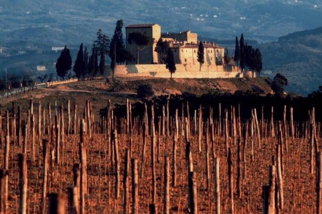 Villa di Berlusconi a Montalcino