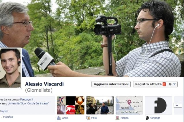 Alessio Viscardi su Facebook e Twitter