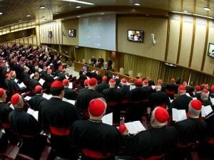 Al via in Vaticano le congregazioni generali dei cardinali, primo passo per eleggere il nuovo Papa. Al primo incontro sono stati presenti 142 cardinali su 207, di cui 103 gli elettori. I cardinali riuniti hanno fatto giuramento di segretezza.