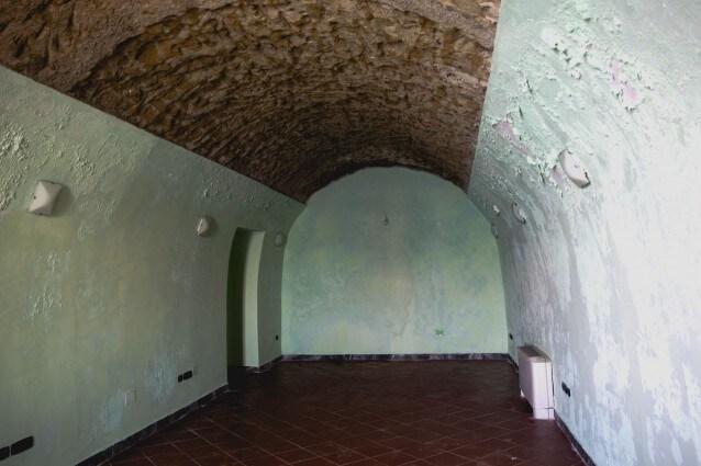 Il restauro della villa Ferretti confiscata ai Polverino
