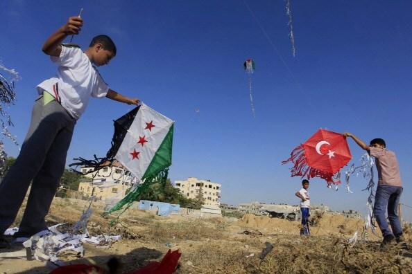 Bambini palestinesi a Ramallah