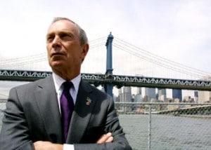 Il sindaco di New York Michael Bloomberg