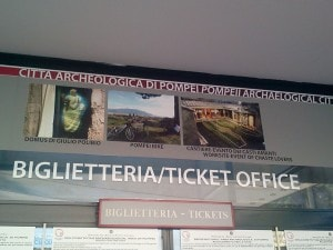 biglietteria ingannevole a pompei