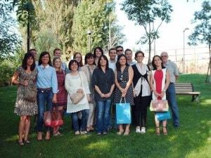 Le donne che lavorano in Cadiai, coop sociale da 40 anni a Bologna.