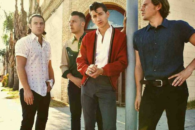 La band britannica Arctic Monkeys