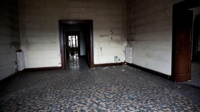 le stanze vuote dell' istituto italiano di studi filosofici