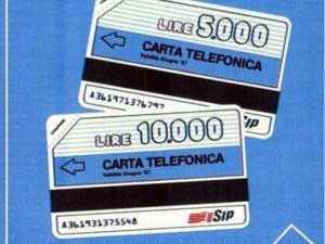 364ffd4657 Chi ha vissuto gli anni Ottanta e Novanta attaccato al telefono se le  ricorda sicuramente: le schede telefoniche della Sip (poi Telecom Italia),  ...