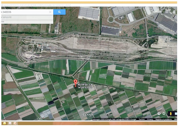 Terra dei fuochi: le immagini satellitari dei siti contaminati
