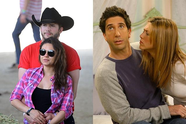 """Il fratello di Ashton Kutcher: """"Lui e Mila come Ross e Rachel di Friends"""""""