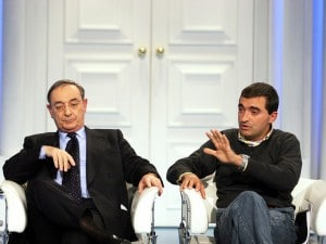 Carlo Taormina e Stefano Lorenzi