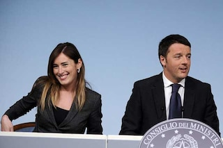 Maria Elena Boschi e Matteo Renzi non saranno nel governo PD - M5s