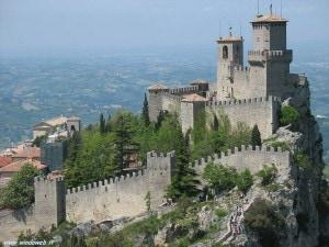 Uno scorcio della Repubblica di San Marino