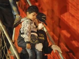 Sbarchi, arrivati nella notte 507 migranti a Vibo Marina