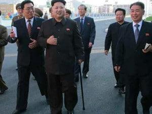 Kim Jong-un bastone