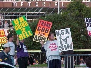 Westboro Church proteste annunciate per i funerali di Steve Jobs