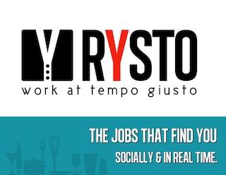Rysto, offerte e richieste di lavoro nel campo della ristorazione. Intervista a Massimo Fabrizio