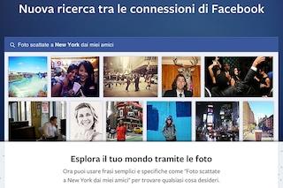 Facebook Graph Search, al via il test su smartphone e tablet