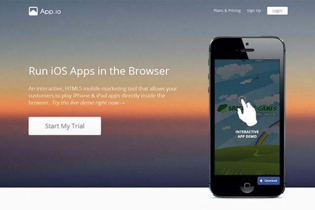 App.io, la startup che porta le app di iOS sul browser e nel News Feed di Facebook