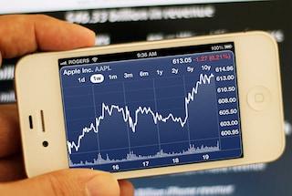 Le azioni Apple calano dopo gli iPhone 5s e 5c
