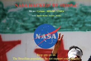 Hacker brasiliani attaccano il sito NASA ma lo confondono con quello dell'NSA