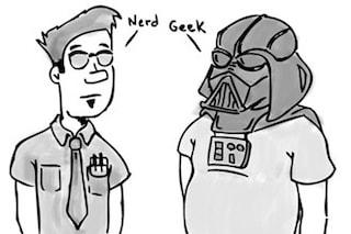 Sei Geek o Nerd? Un grafico permette di capire da che parte stai