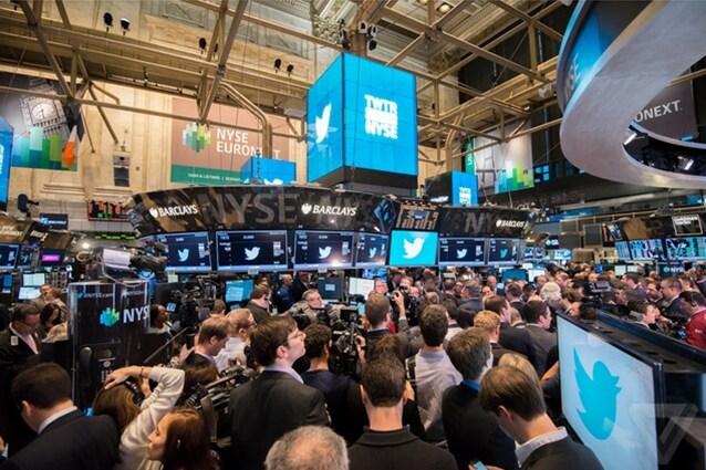 Twitter: boom in borsa, aperte ufficialmente le contrattazioni: balzo a 50 dollari e +90% sull'IPO