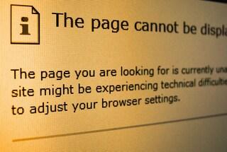"""Le più strane pagine di errore """"404"""" sul Web"""