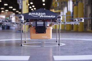 Amazon testa il nuovo servizio di consegna con droni in Canada